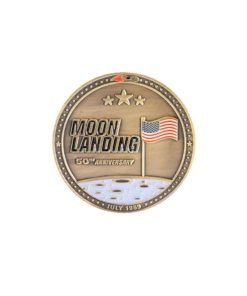 Moneda Conmemorativa Apollo 11