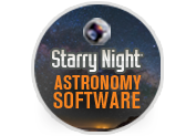 Sosftware de Astronomía Starry Night