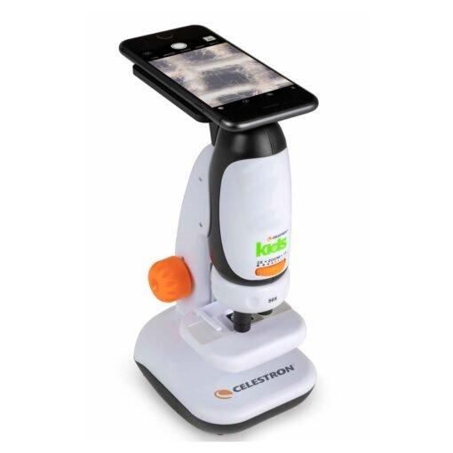 Microscopio Kids Celestron - con adaptador de celular